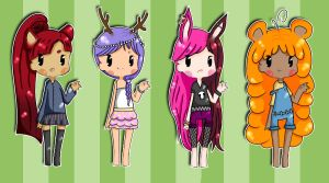 Chibi adoptable batch 1 :CLOSED: by Saria48