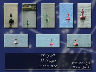 Bouy set by Wicasa-stock