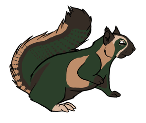Squirrel 2 Adoptables By Lacrymosa-adopts 2013 by Avengium