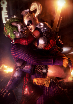 Love is a Funny Thing | Joker x Harley by Urbanator