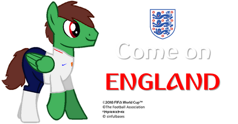 Come on England! by PresencePone