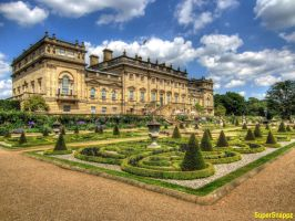 The Beautiful Harewood House and Terraced Garden. by supersnappz16