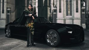 King of Lucis by NightysWolf