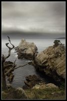 Point Lobos sky by AfterDeath
