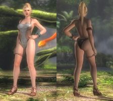My favorite DOA outfits (Rachel Tropical Sexy) by DoAfanboi