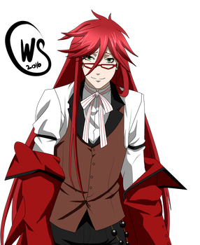 Grell Sutcliff by Wolven-Sorceress