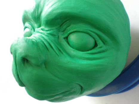 clay head detail by betani