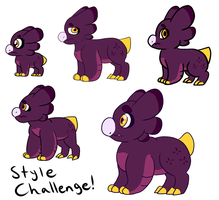 .:Wyngro:. Steal Their Style Challenge! [Fritter] by Hedgermins