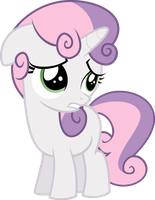Sweetie Bell is sorry by ThePonyIsATrue