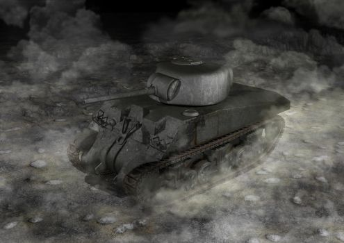 M4 Sherman Tank by aDFP
