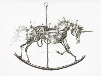 War Horse by Aaron-R-Morse