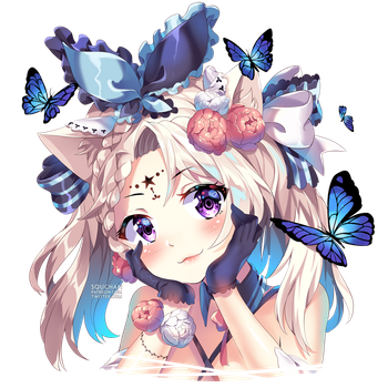 Butterfly by SquChan