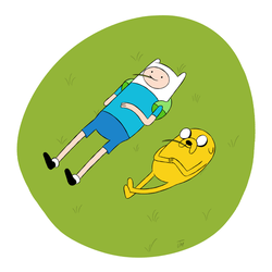 Finn and Jake by jamimart