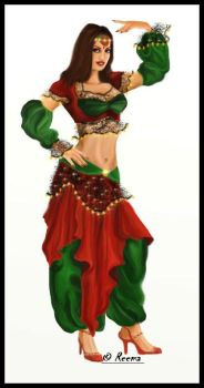 The Belly dancer 1 by shirly90