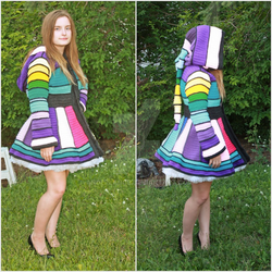 Serged Dream Coat by anderlance