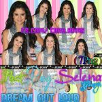 Pack png Selena Gomez DREAM OUT LOUD by lha-constanza