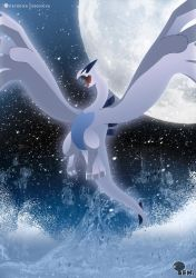 Lugia - the Guardian of the Seas by EdoNovaIllustrator