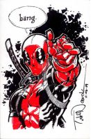 Deadpool: Tampa Con commission by ToddNauck