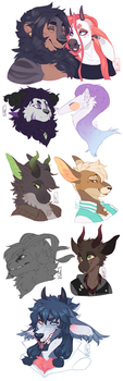 Bust Commissions Dump by LiLaiRa