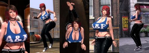 DOA5LR Mod: Molly by repinscourge
