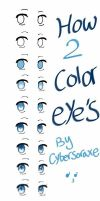 how to color anime eyes- digital by ShinyMai