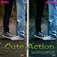 Cute Action by OnlySweetGirl