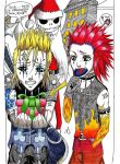 Demyx and Axel-Colored by Uzumaki-Akane-sama