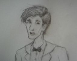 Eleventh Doctor - Sketch by Texas-Guard-Chic