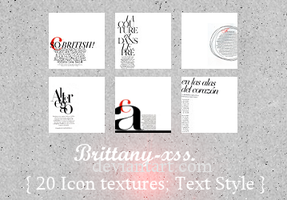 Icon Textures - Set 05 by brittany-xss