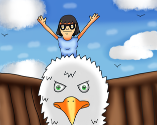 Bob's Burgers- Tina Is Queen Of The World by MyMelodyOfTheHeart