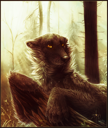 Ode to the queen of forests by Zietro