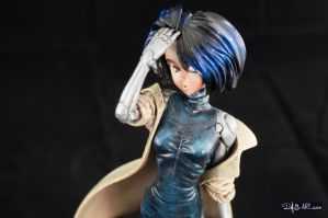 [Garage kit painting #02] Gally statue - 018 by DasArt
