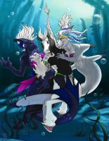 YCH Under The Sea Final by lady-cybercat