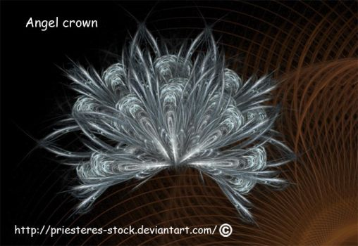 Angel crown or fan by priesteres-stock
