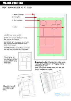 Template page layouts on manga apps deviantart pronofoot35fo Gallery