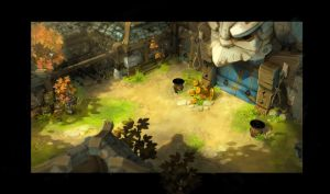 old Dofus 3 Background test by xa-xa-xa