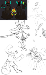 Terra sketch page 1 by TerraConceptualArt