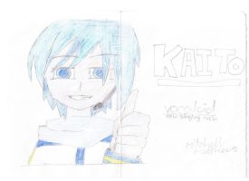 drawings: KAITO by mitchika2