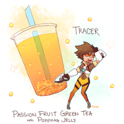Overwatch - BOBAWATCH: Tracer by Pidoodle