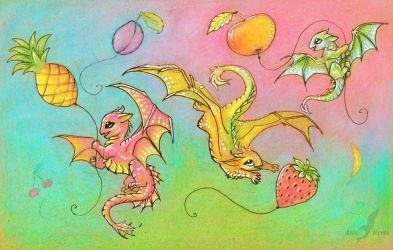 Fruit sky happiness by AlviaAlcedo