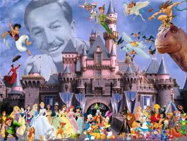 Walt Disney Present by Elemental-Aura