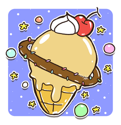 Ice Cream Planet by Crystal-Moore