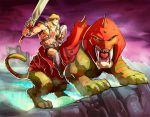 He-man Masters of the universe color by Fpeniche