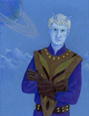 My Andorian Friend by TribalGraces