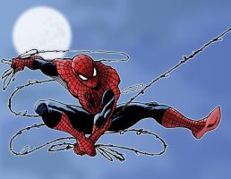 Spiderman in Color by dpage3