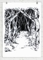 Into The Woods by Wrapped-Within-Ink