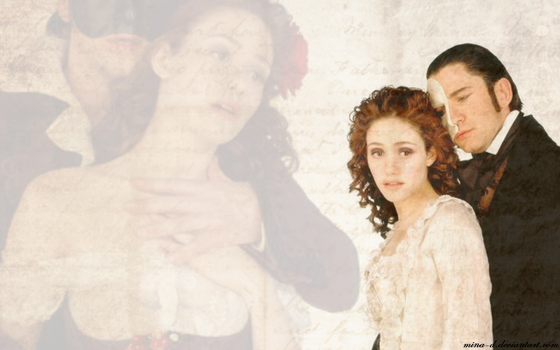 POTO Wallpaper: The Ghost's Love Story by mina-D