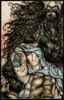 Hagrid and Harry by TheHermitage