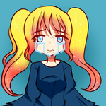 Kanna Teary my oc draw for me By Mytwoface by IceIllusionsLoveSong