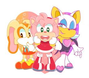 Sonic Girls by CreamChao427
